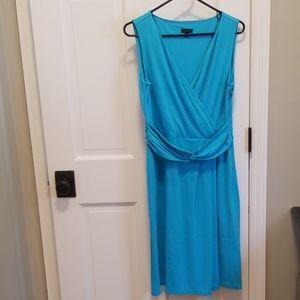 Talbots sleeveless knit dress